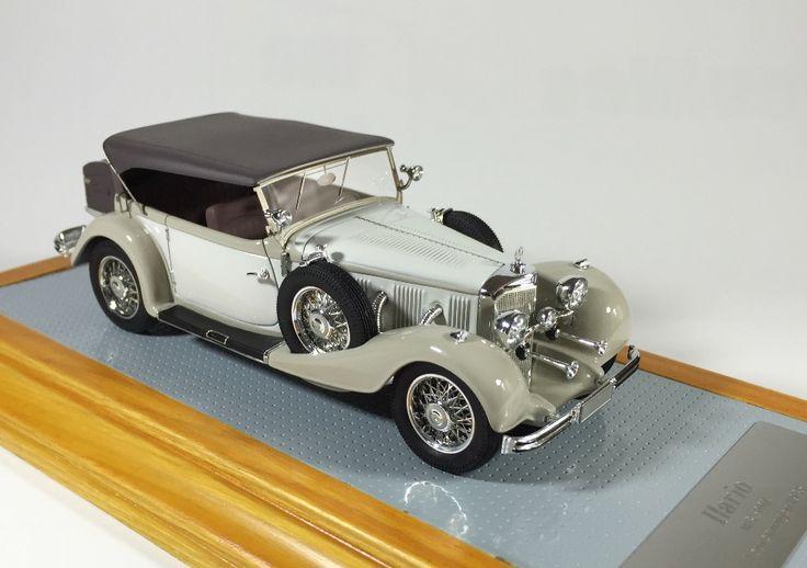 Ilario il093 1/43  Mercedes-Benz 500K Tourenwagen 1935