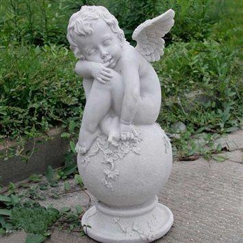 Cute little angel (coupon code 3offpin) #gardening #garden #ornaments