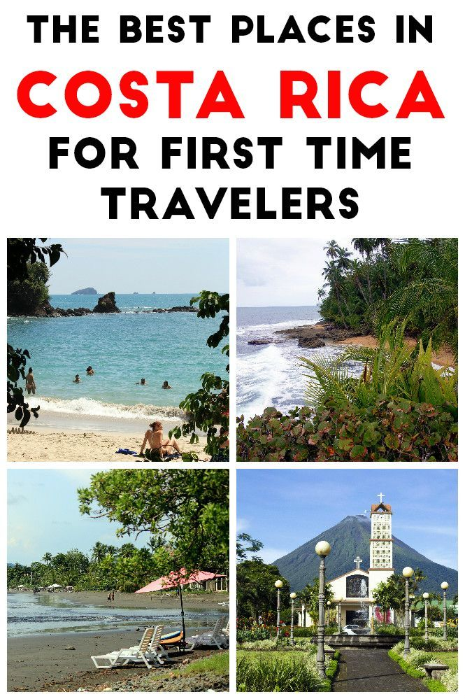 The best places for first time visitors to Costa Rica: all of these destinations are tourist friendly, have lots of fun things to do and are easily accessible. Click through to read more mytanfeet.com/...