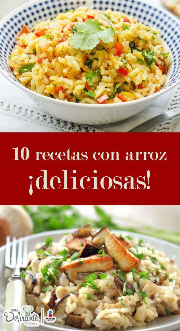 recetas con arroz   CocinaDelirante