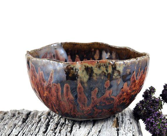 Ceramic Bowl Rustic Decor Handmade Pottery door DeeDeeDeesigns