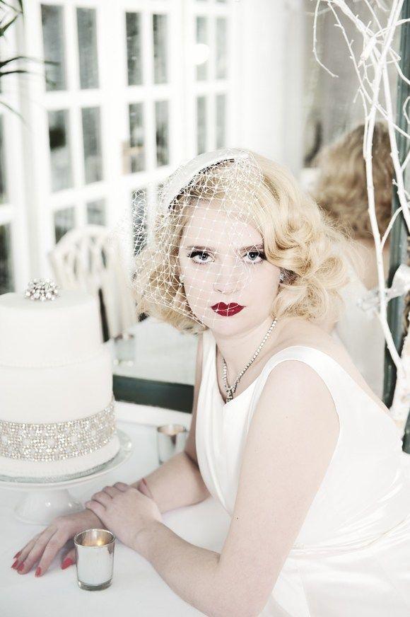 1950's Screen Siren ~ Beautiful Bridal Accessories by HT Headwear...