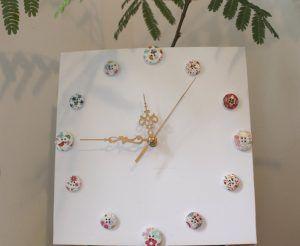 wall watch buttons ideas