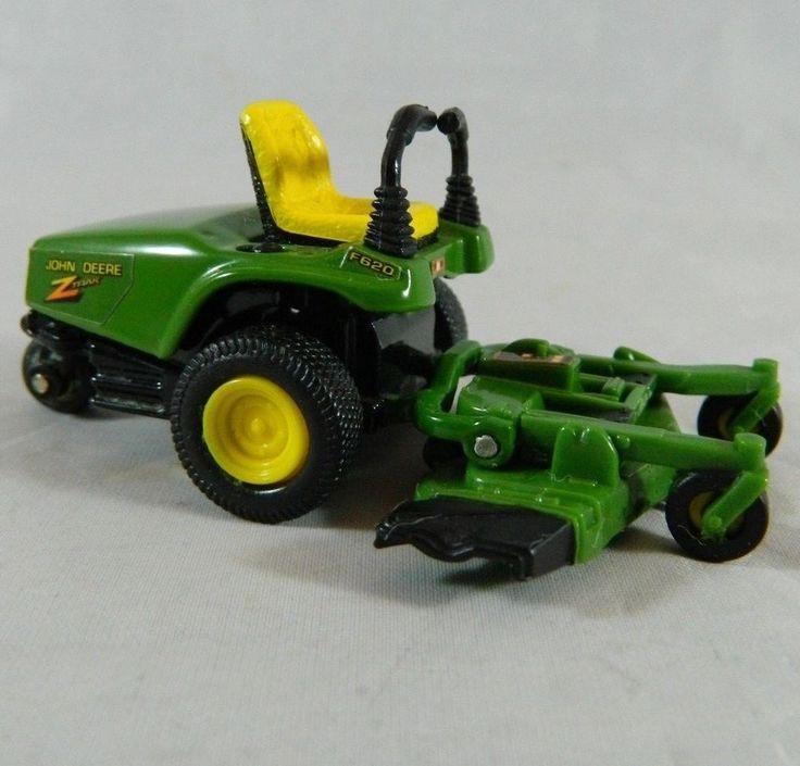 ERTL 1:32 Diecast John Deere Zero Turn Lawnmower Z-Trak F620 Yard Tractor #Ertl #JohnDeere