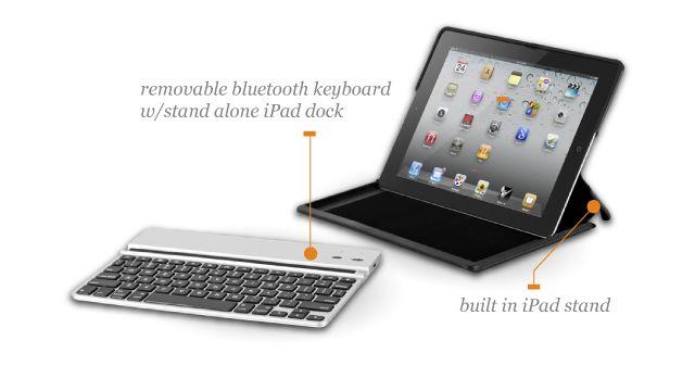 Sleak, Stylish, built-in key board, built-in stand.