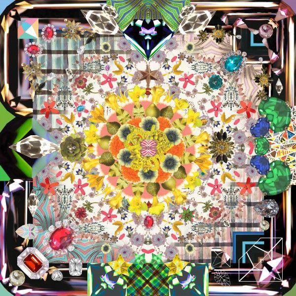 Jewels Garden vloerkleed 300x300 | Moooi Carpets