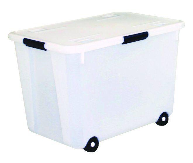 Пластиковые контейнеры для хранения вещей в гардеробной | Фотогаллереи гардеробных. Дизайн гардеробных комнат