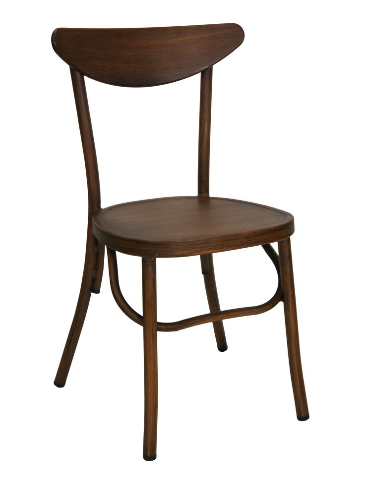 Melnikov Aluminium Outdoor Chair Replica Thonet Bentwood Dining Chairs Stackable Brown