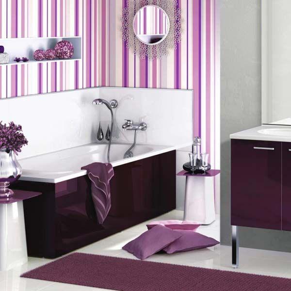 Лавандовый цвет имеет огромный потенциал - использовать его можно как в классических, так и в современных интерьерах. Такой цвет придает ванной комнате особый шарм, создает умиротворяющую и романтическую атмосферу. Лавандовый цвет хорошо сочетается с мебелью темного цвета и аксессуарами. Фиолетовая ванная комната будет отличаться особой чистотой и элегантностью.   #строители #поиск_строителей_украины