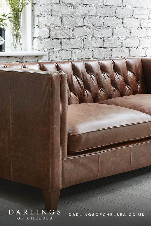 How To Style With Your Brown Sofa Darlings Of Chelsea In 2020