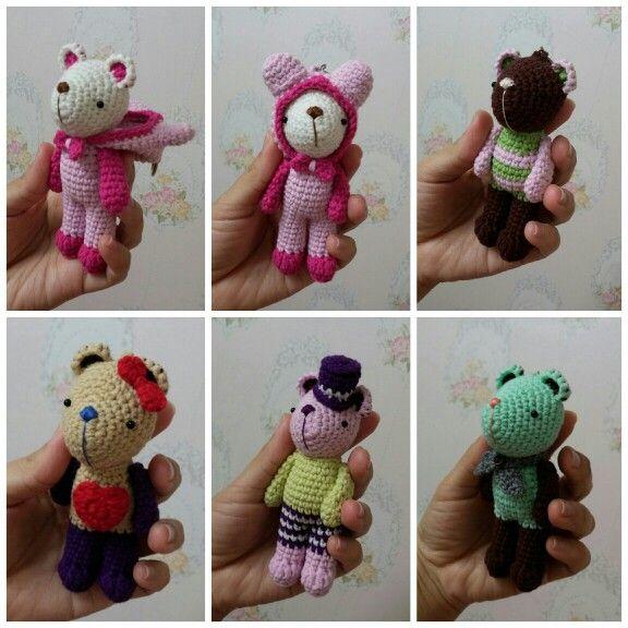 crochet  dolls design  by 안지숙