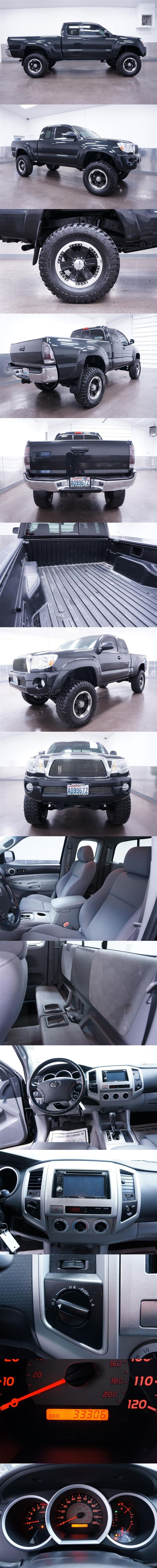 ☆ 2007 Toyota Tacoma 4x4 Lifted Truck/Trucks ☆ Nav & Low Miles!