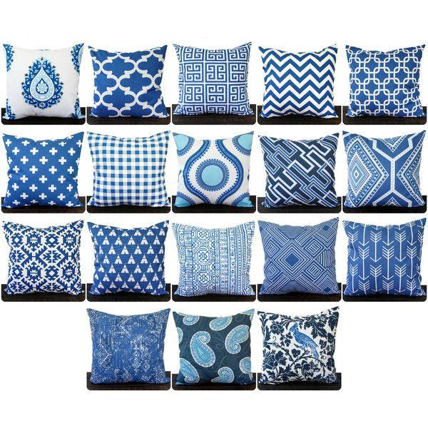 pillow throw pillow pillow cover cushion decorative pillow cobalt 14 navy blue