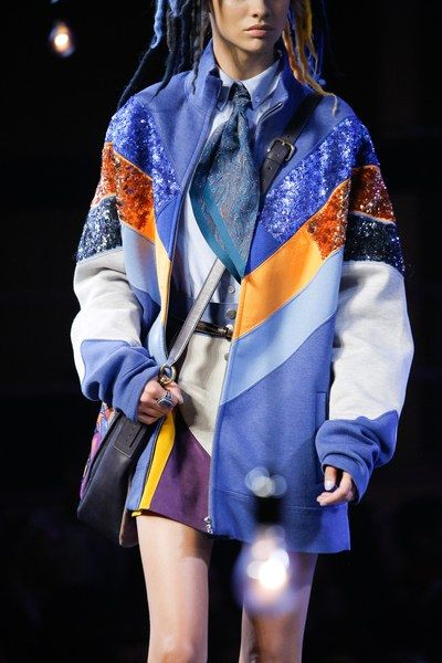 See detail photos from the Marc Jacobs Spring 2017 show at New York Fashion Week.