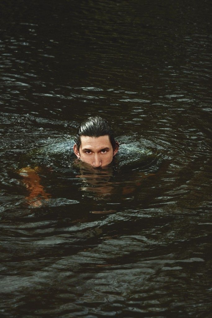 Can you imagine being in the forest and Adam Driver swims up to you. Did you just die? Is this heaven?