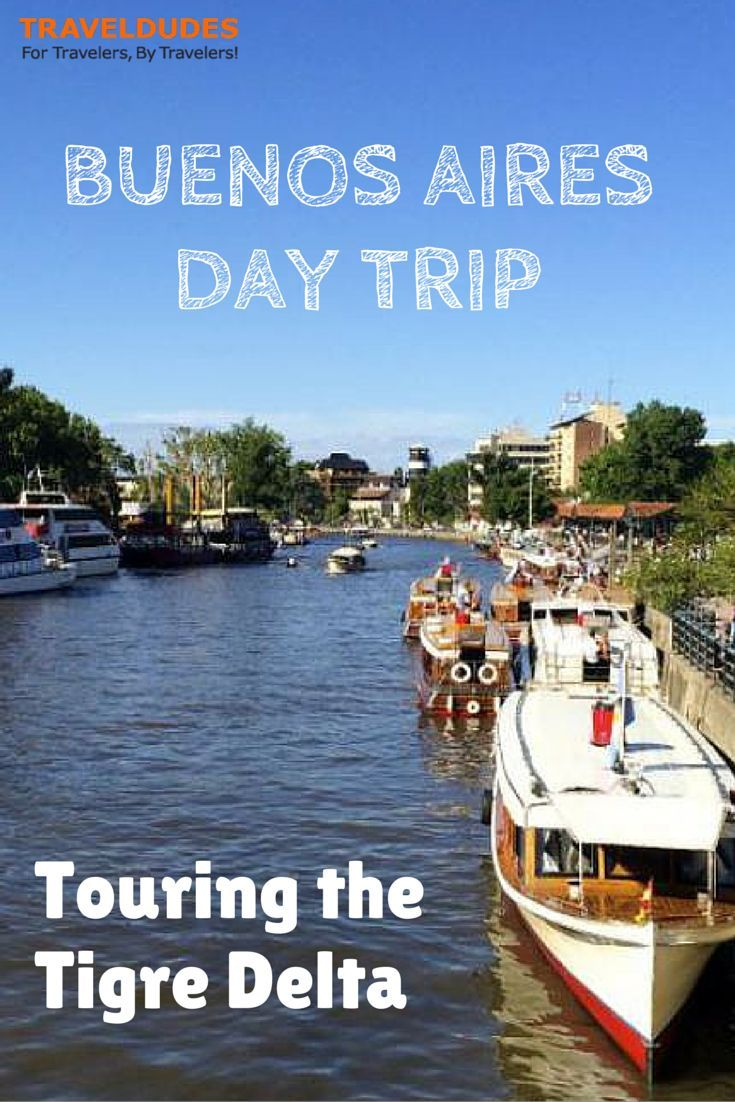 Buenos Aires Day Trip: Touring the Tigre Delta | Summer in Buenos Aires is a steamy affair. And when the going gets hot, the Porteños head out of the city to find respite | Travel Dudes Social Travel Community: