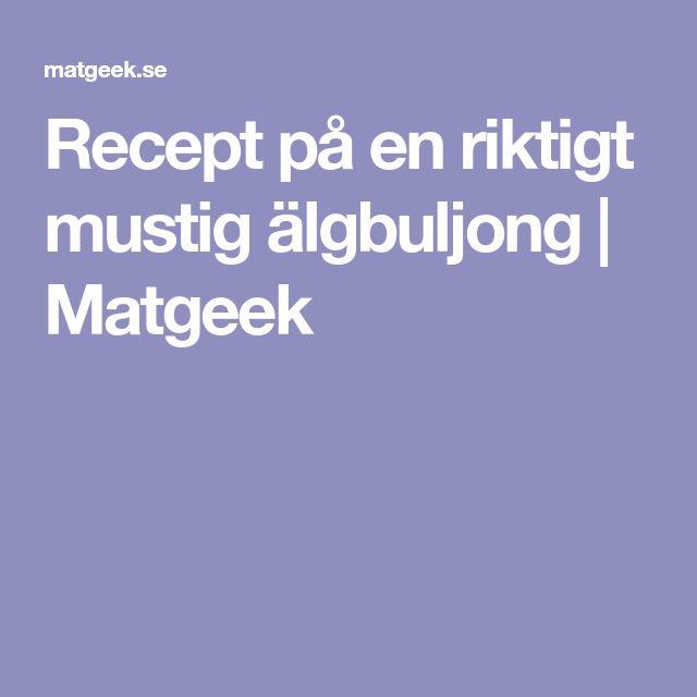 Recept på en riktigt mustig älgbuljong | Matgeek