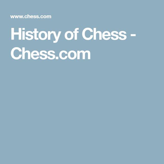 History of Chess - Chess.com