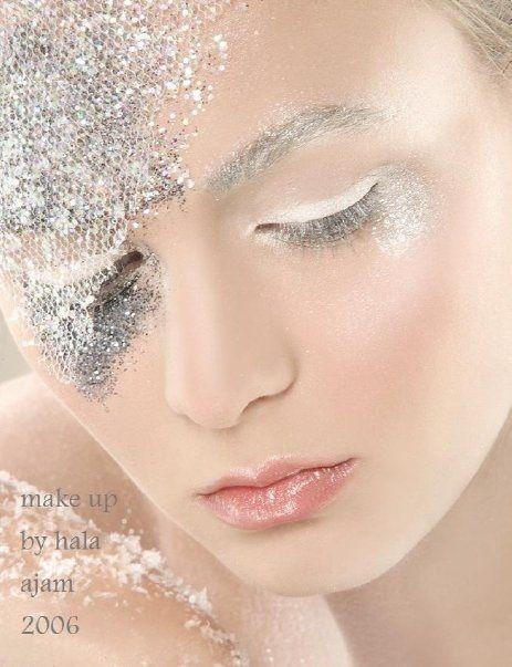 Taiteellinen meikki Libanonin meikkitaiteilija Hala Ajam
