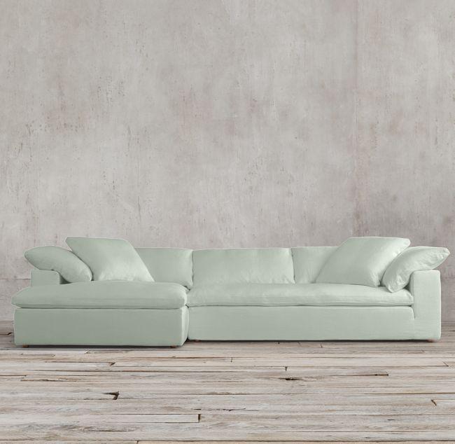 Cloud Sofa Chaise Sectional Chaise Sofa Living Room Upgrades Modular Sofa