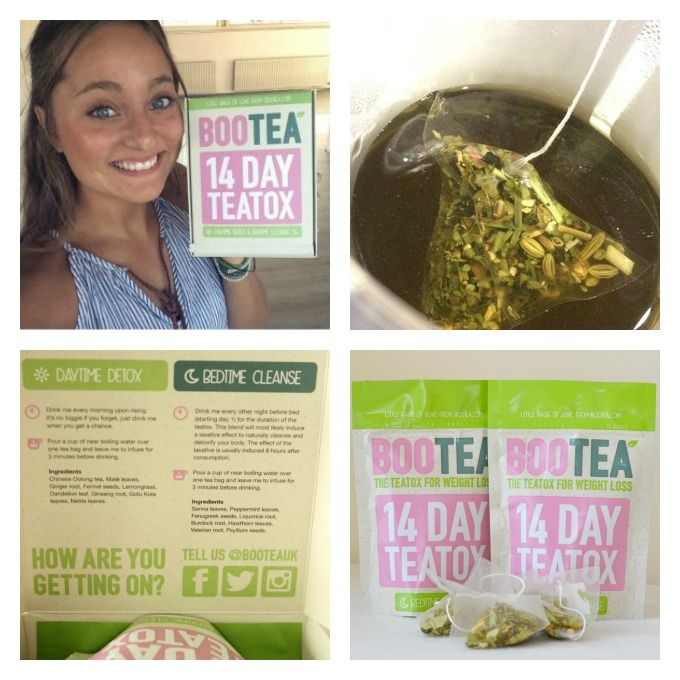 Review Teatox van Bootea - Healthy Vega