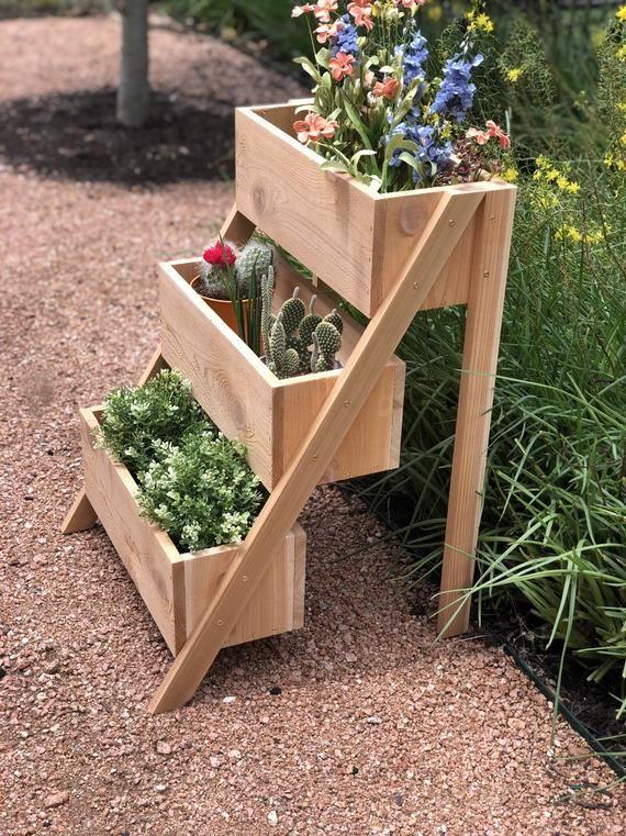 3 Garden Planters