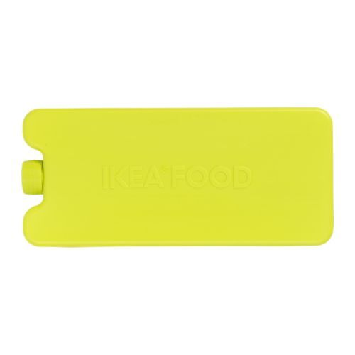 IKEA KYLKLAMP Ice pack Green With or without a freezer bag – keep your food items cool with these ice-packs. For example on your way home today.