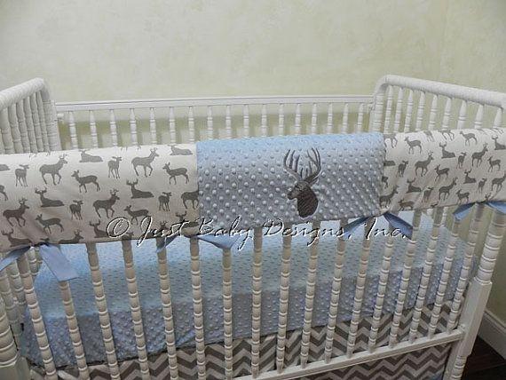 Baby Boy Bedding Set Brock Boy Crib Bedding by BabyBeddingbyJBD