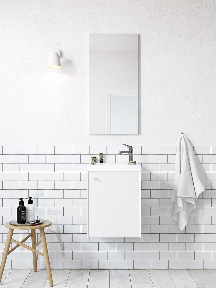 Bathroom series Compact from Ballingslöv | PerPR
