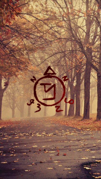 Best 25 supernatural symbols ideas on pinterest devils - Supernatural phone background ...
