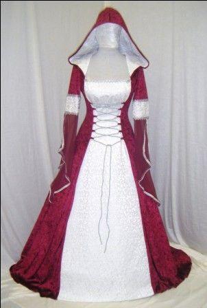 medieval handfasting renaissance dress custom made