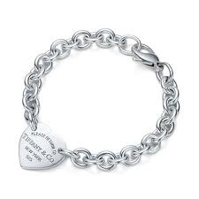 Tiffanys Bracelets- I'd prefer this to the hanging charm