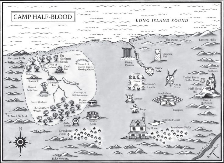 Camp Half-Blood in Trials of Apollo