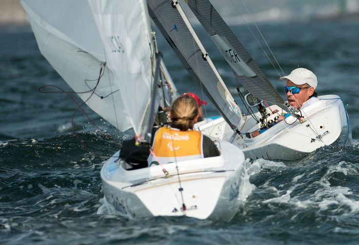 Helena Lucas: Bronze in the sailing 1 person keelboat race