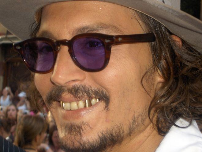 Johnny Depp Teeth