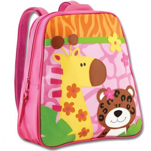 Zoo Girl Go Go Backpack Possum Pie Stephen Joseph Arts and Crafts, Gifts and Toys, Bags and Backpacks