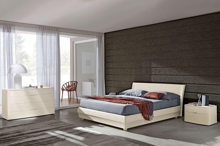 Camera da letto 101 in laccato a poro aperto - NAPOL.IT