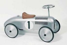 Goki Loopauto nummer 1, zilver