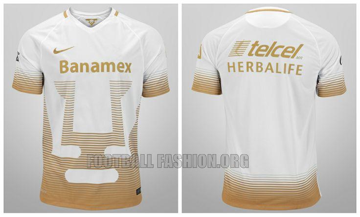 Pumas de la UNAM 2015 2016 Nike Home and Away Soccer Jersey