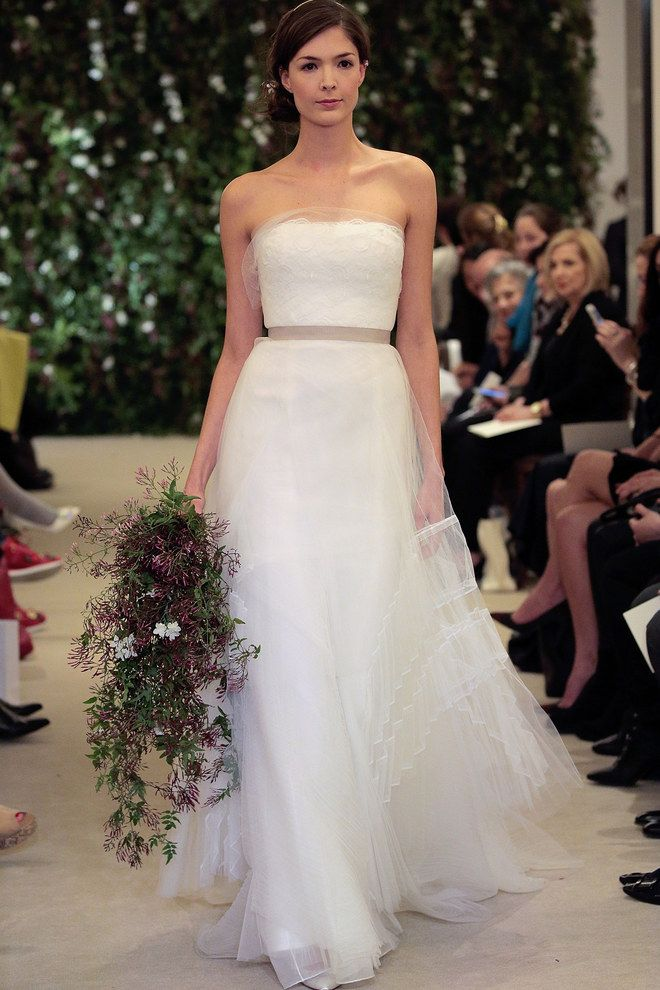 Robe de mariée Carolina Herrera 2016