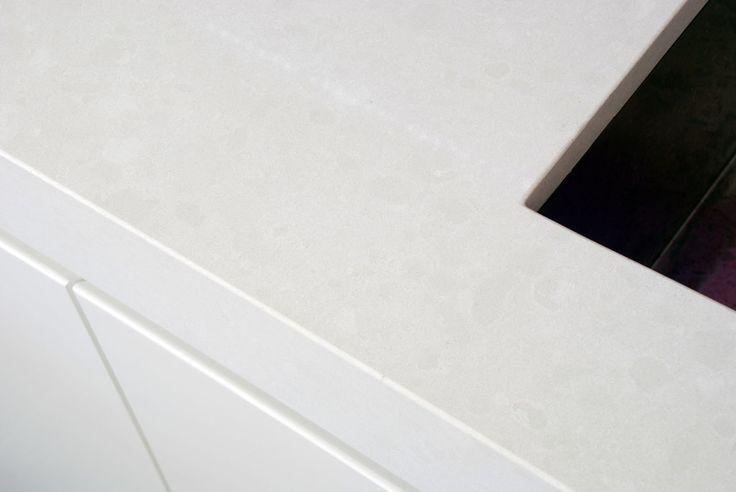 Caesarstone 4600 Organic White Interiors Living