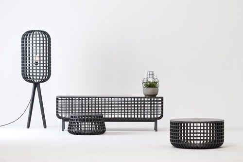 Dami is a collection of basket forms and covers by designer Seung-Yong Song.