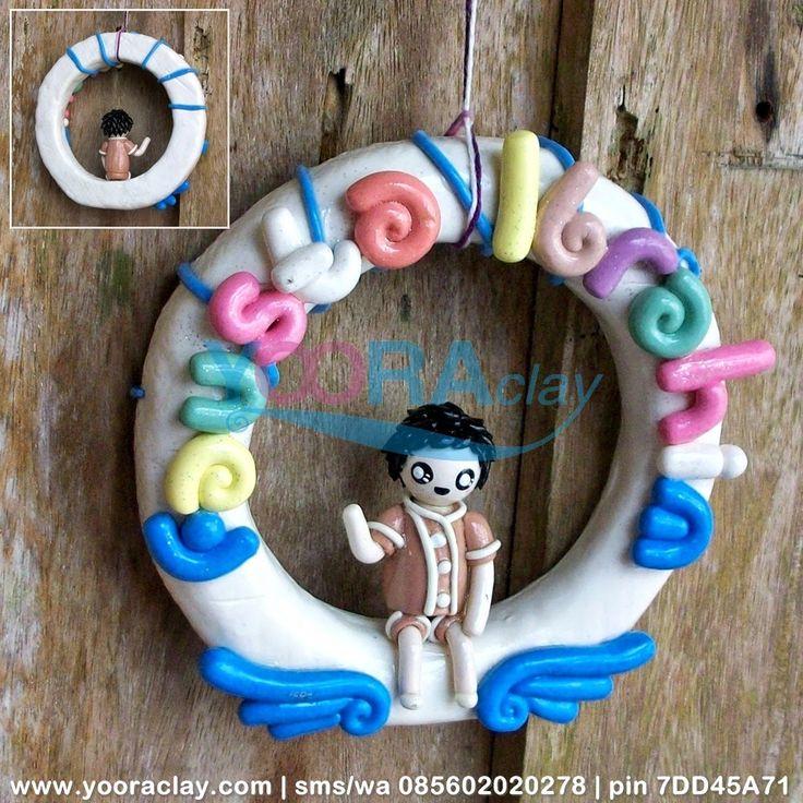 Hiasan Pintu Ibra - Yoora Clay | Custom made Clay Craft