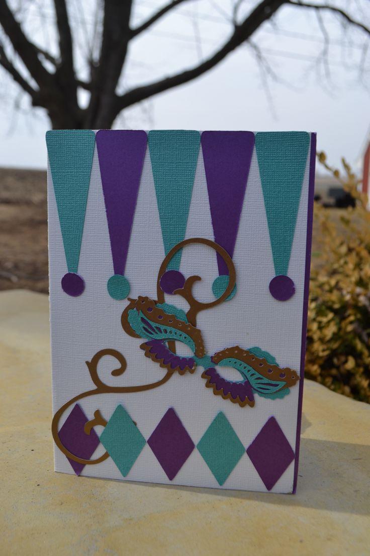 25 best mardi gras wedding invitation ideas images on pinterest mardi gras wedding card monicamarmolfo Choice Image