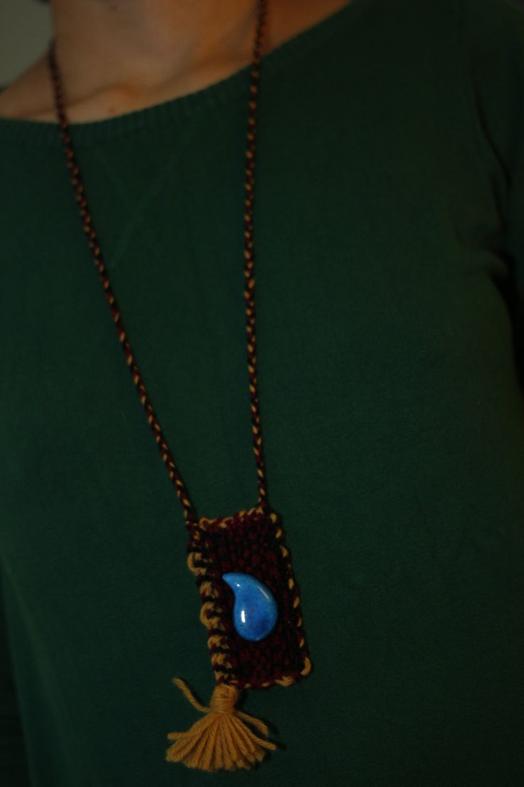 Kilim Necklace by BalochEmbroidery on Etsy