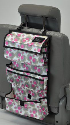 backseat entertainment in pink dot keep the kids stuff or your stuff