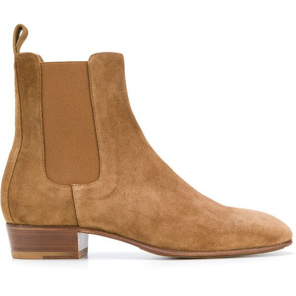 Represent Squared Toe Chelsea Boots 460 Liked On Polyvore Featuring Men S Fashion Men S Shoes Men S Boots Brown Mens Brown Chelsea Boots Mens Square T