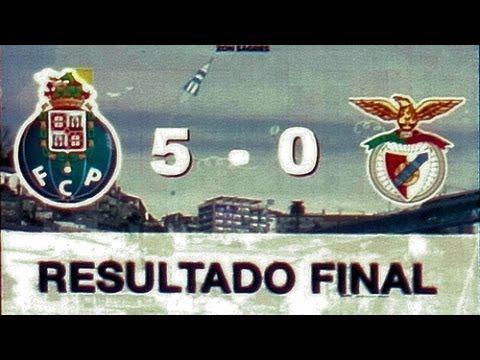 Porto 5 - 0 Benfica  7 NOV 2010