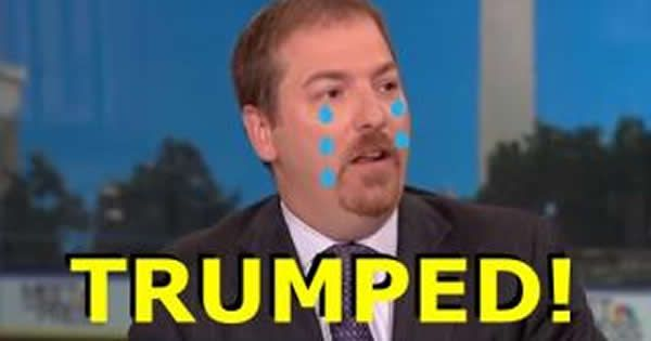 Anti-Trump Anchor, Chuck Todd, Asks America ONE QUESTION – Gets ROASTED With Answers