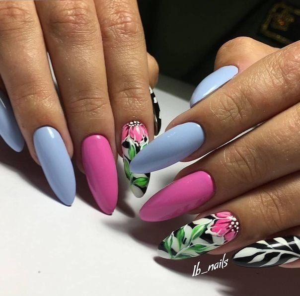 Hybrydy Na Lato Top 26 Fenomenalnych Inspiracji Na Letni Manicure Nail Designs Nail Art Designs Glitter Nails Acrylic